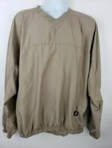 FootJoy Beige Pullover Men's Golf Jacket Size XL - $39.59