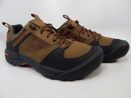 Keen Montford Size US 9 M (D) EU 42 Men's Casual Leather Shoes Earth 1014365