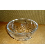 """Marquis by Waterford Crystal Christmas Tree Bowl 5 1/2"""" - $17.33"""