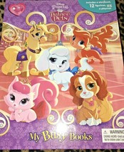 My Busy Books Disney Princess Palace Pets 12 Figures Playmat Pumpkin Tea... - $14.99