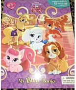 My Busy Books Disney Princess Palace Pets 12 Figures Playmat Pumpkin Tea... - $14.99