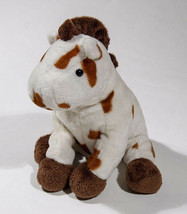 Ty Pluffies Gallops Spotted Horse Pony Plush Stuffed Animal Tylux 2005 - $10.93