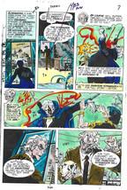 Original 1975 Phantom Stranger 38 page 7 DC Comics horror color guide ar... - $99.50