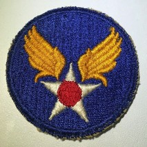 Original Wwii U.S. Army Air Force Cut Edge Patch Fighters Bombers Pilot Usaaf Ng - $5.86