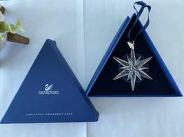 Swarovski 2005 Christmas Ornament 680502  Star Snowflake - $101.92