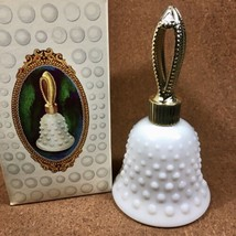 Vintage Avon Hobnail Bell Milk Glass SWEET HONESTY Cologne Perfume 2 fl oz -NEW! - $9.46