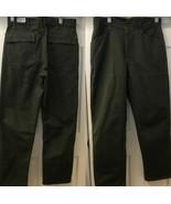 VF Imagewear Men's Work Uniform Army Olive Green Pants Heavy Duty 36R x ... - $23.98