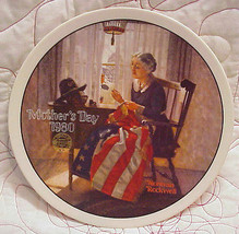 "Mother's Pride - Norman Rockwell - Mothers Day 1980 - 8"" Collector Plate... - $19.99"
