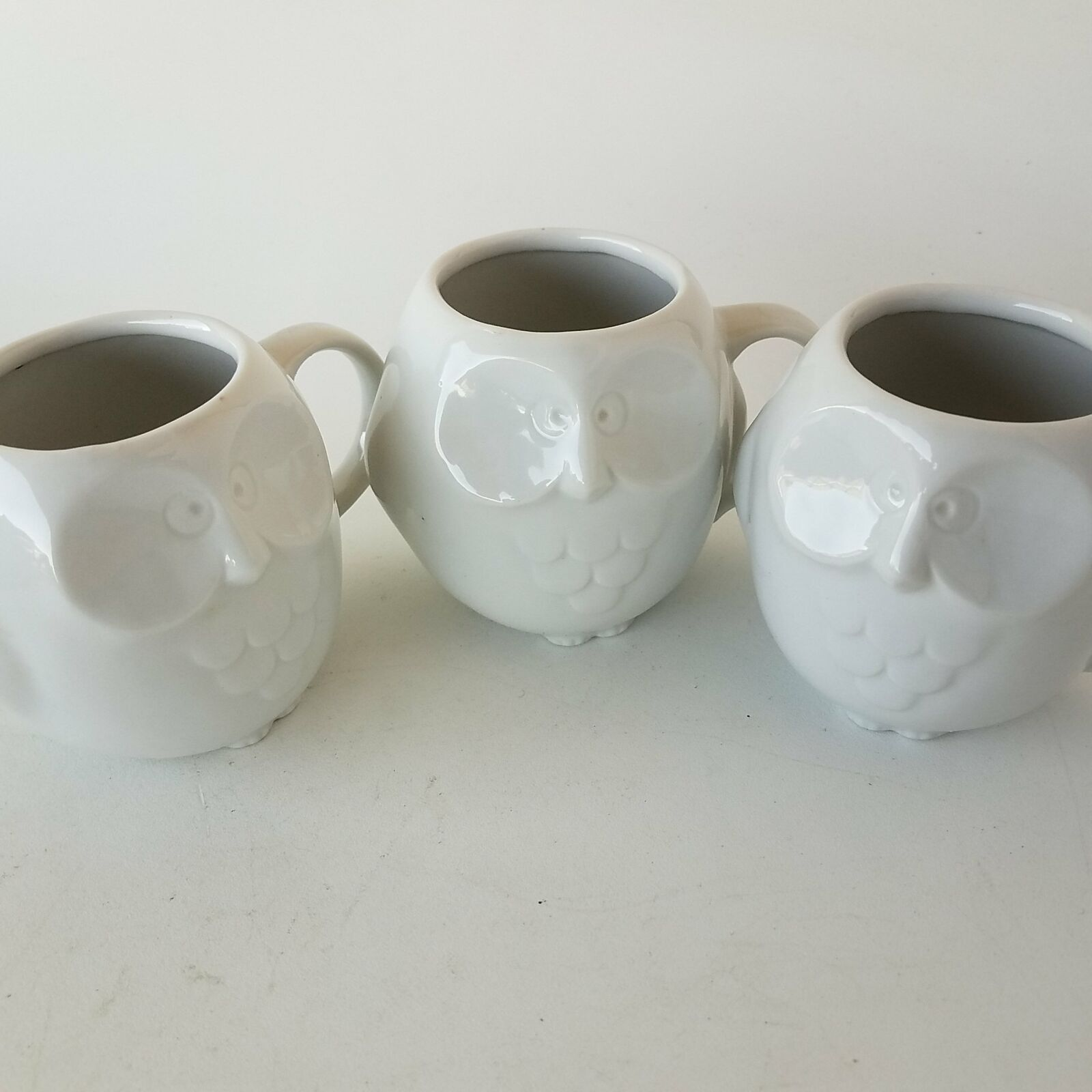 Primary image for Owl Figure Mugs Cups 3-Pieces