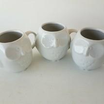 Owl Figure Mugs Cups 3-Pieces - $30.71