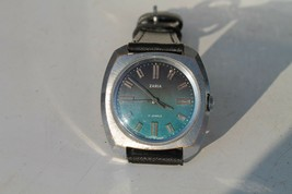 Old Rare Vintage Russian Cccp Wrist Watch Zaria - $25.84