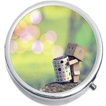 Cute Robot Medicine Vitamin Compact Pill Box - $9.78