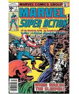 Marvel Super Action Comic Book #2 Captain America 1977 VERY FINE- - $7.84