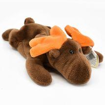 1993 TY Beanie Baby Original Chocolate the Moose PVC Beanbag Plus Toy Doll image 4