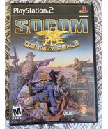 Socom Us Navy Seals Playstation 2 video game battle fighting  - $9.99