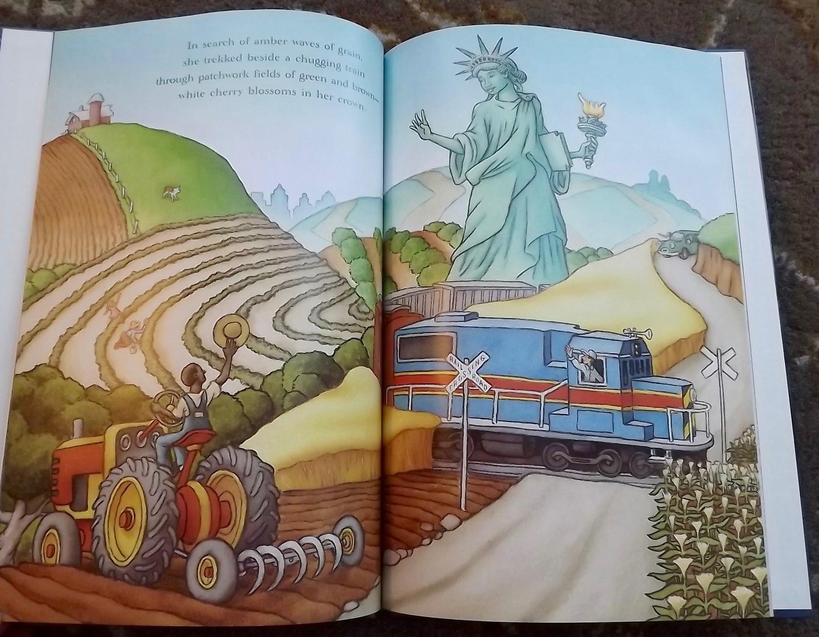 3 Richard Egielski books The Tub People, The Tub Grandfather, Liberty's Journey