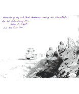 Brigadier General Albin F. Irzyk signed Vintage WWII 4th Armored Div. Pa... - $136.95