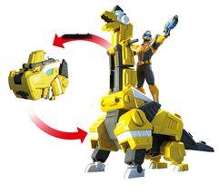 Miniforce Trans Head Bracha Super Dinosaur Power Brachiosaurus Action FIgure Toy image 5