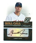 2005 Zenith Roll Call Autographs Garrett Jones #RC-5 SP Auto Signed - Mi... - $9.41