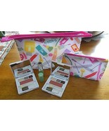 Clinique Cosmetic Bags & Makeup NWOT -FREE Mirror W/Purchase - $34.65