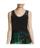 a.n.a V-Neck Crochet Tank Top Size PS, PM, PL, PXL New Msrp $36.00 Black - $14.99