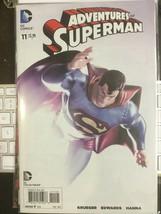 Adventures Of Superman #11 Dc Comics 2013 Incentive Variant Comic - $24.49