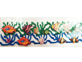 The Paper Studio Sea Life 3-D Border Sticker #78486 for Scrapbooking, Cards image 2