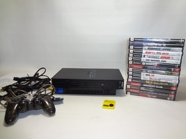 Sony PlayStation 2 Console (SCPH-30001) System Bundle 16 games memory card - $69.28