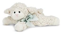 Bearington Baby Baa Plush Stuffed Animal Lamb with Rattle, 8 inches - $13.66