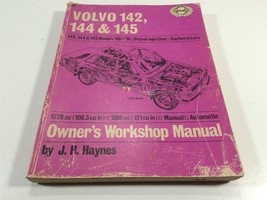 1966 to 1974 Volvo 142 144 145 Owner's Workshop Manual Haynes - $24.99