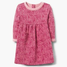 NWT Gymboree Creative Types Girls Pink Leaf Long Sleeve Dress 2T 3T - $12.99