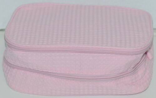Terry Town CBW001 Waffle Weave Cosmetic Bag Color Light Pink