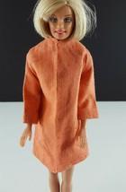 Barbie Orange Linen Jacket Clone 1960s Clothing - $19.79