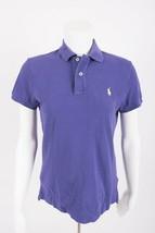 Polo By Ralph Lauren Men's Polo Shirt S Classic Fit Purple Pique Two-But... - $19.79