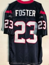 Reebok Authentic NFL Jersey Houston Texans Foster Navy sz 56 - $59.39