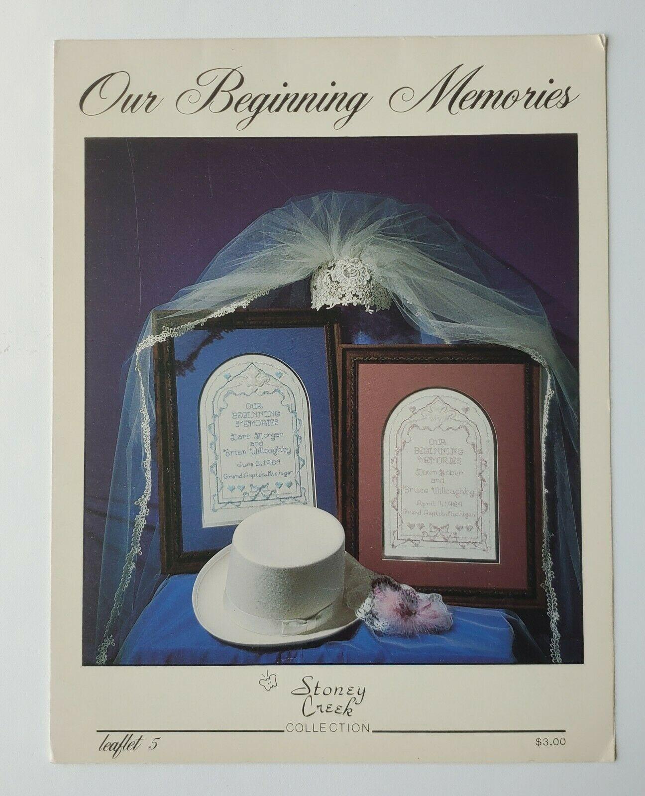 Beginning Memories Stoney Creek Counted Cross Stitch Leaflet #5   - $4.25