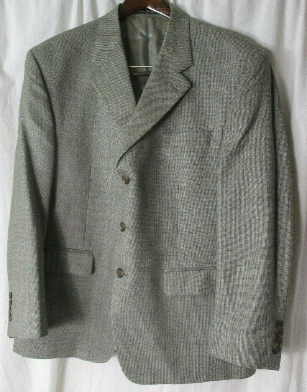 Primary image for Ralph Lauren Mens Gray Sports Coat Blazer Suit Jacket Size 44S  (Blue Label)