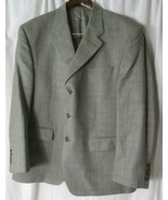 Ralph Lauren Mens Gray Sports Coat Blazer Suit Jacket Size 44S  (Blue La... - $39.59