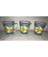 Tabletrendz Sakura SAK10 Fish Seashells Blue Wave Border OCEAN Mug Cups 3 - $21.99