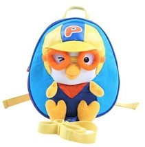 PORORO Animation Safety Strap backpack Character Toy bag Blue - £24.02 GBP