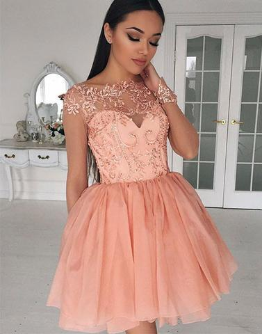 pink homecoming dress,short homecoming dress,cute homecoming dresses
