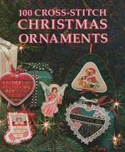 """Hard Covered Book - """"100 Cross-Stitch Christmas Ornaments"""" -Meredith-Gen... - $18.00"""