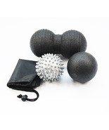 1 Set EPP Fitness Peanut Massage Ball Yoga Ball Trigger Point Ball Shoul... - $21.98