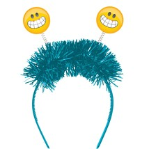 Show Your Emojions 9 1/2 x 7 1/2 Flashing Headband, Case of 12 - $64.12