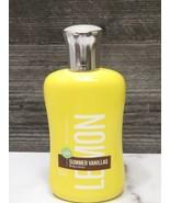 Bath & Body Works Lemon Vanilla Lotion Large Full Size Bottle New - $19.80