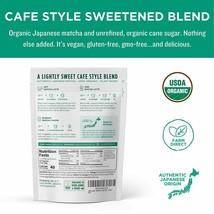 Jade Leaf Organic Matcha Latte Mix - Sweet Matcha Green Tea Powder (5.3 Ounce) image 2