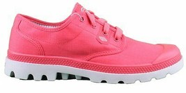 Palladium Pampa Oxford Lite Pink Gray Shoes Dri-Lex Sweat Control Breathability image 2