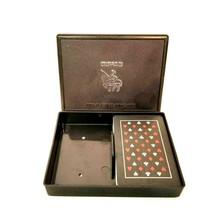 Copag 100% Plastic Standard Bridge Size Deck Playing Cards Black w/ Case... - $10.99