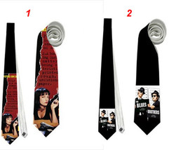 necktie blues brothers pulp fiction show band revue duo tie John Belushi... - $22.00