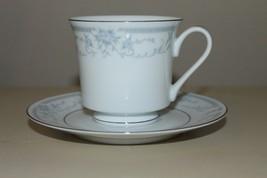 Vintage Sheffield Blue Whisper Porcelain Fine Cup & Saucer 1985 Made In Japan -K - $13.10